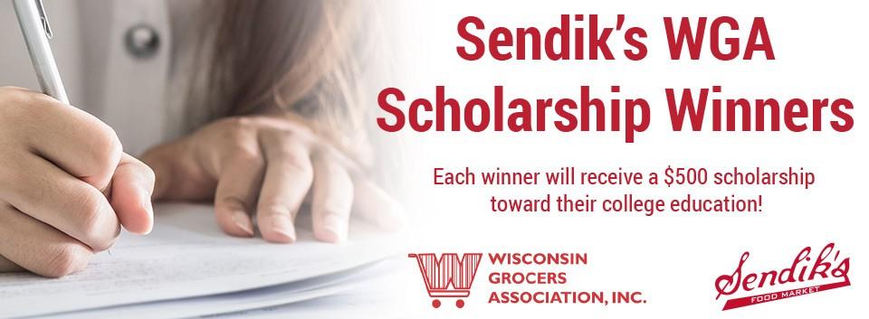 2017 Wisconsin Grocers Association Scholarship Winners