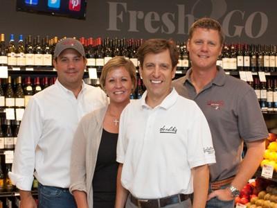 Sendik's Food Market Owners - Nick, Margaret Harris, Ted and Patrick