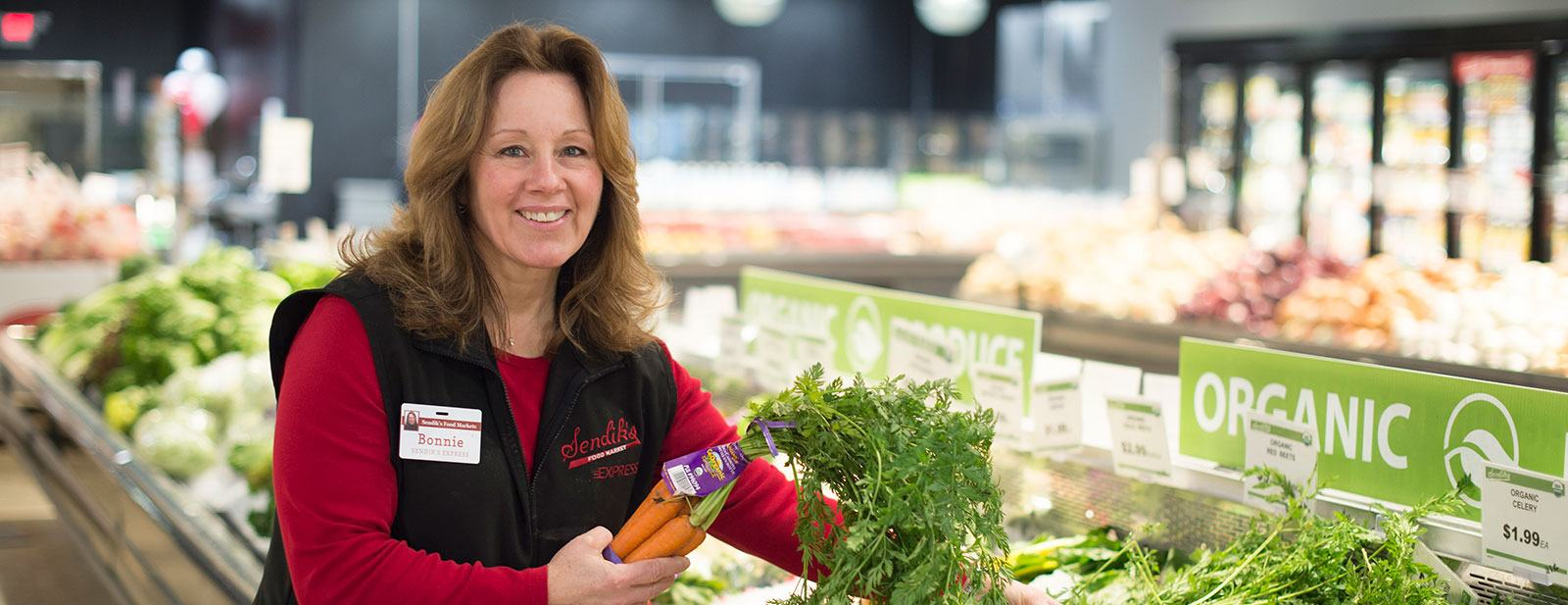 Personal Shopper with produce