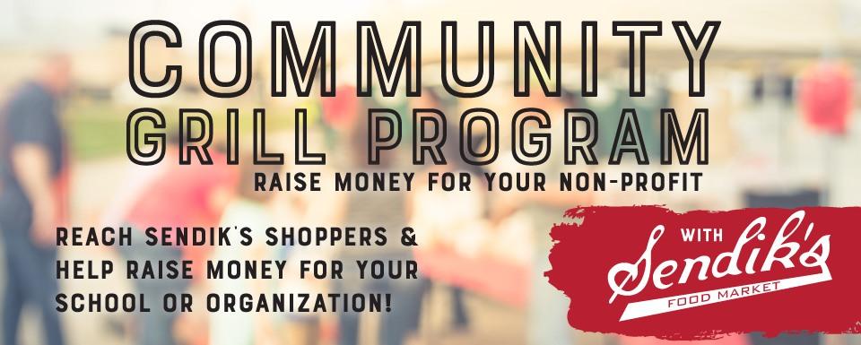 Summer Grill Program: Raise money for your non-profit with Sendik's