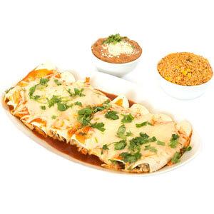 Fresh2GO Family Meal Chicken Enchilada